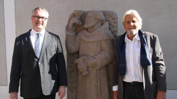 Borer-Statue «der letzte Franziskaner» erinnert an Pater Franz Ludwig Studer