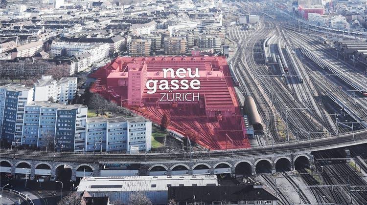 Neugasse-Areal: Das Stadtparlament hat andere Pläne als die SBB