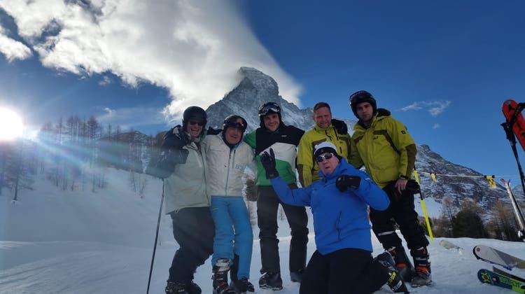Skiweekend der Schwaderlocher Pontoniere in Zermatt vom 11. – 13.01.2019