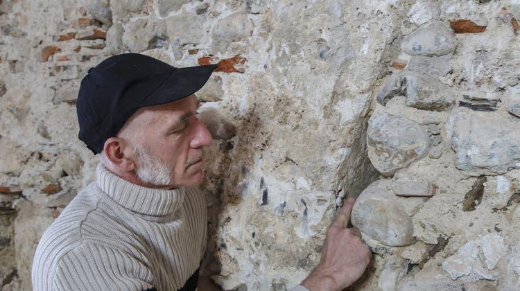 Bei der Sanierung der Antoniuskapelle wurde ein steinerner Altar gefunden