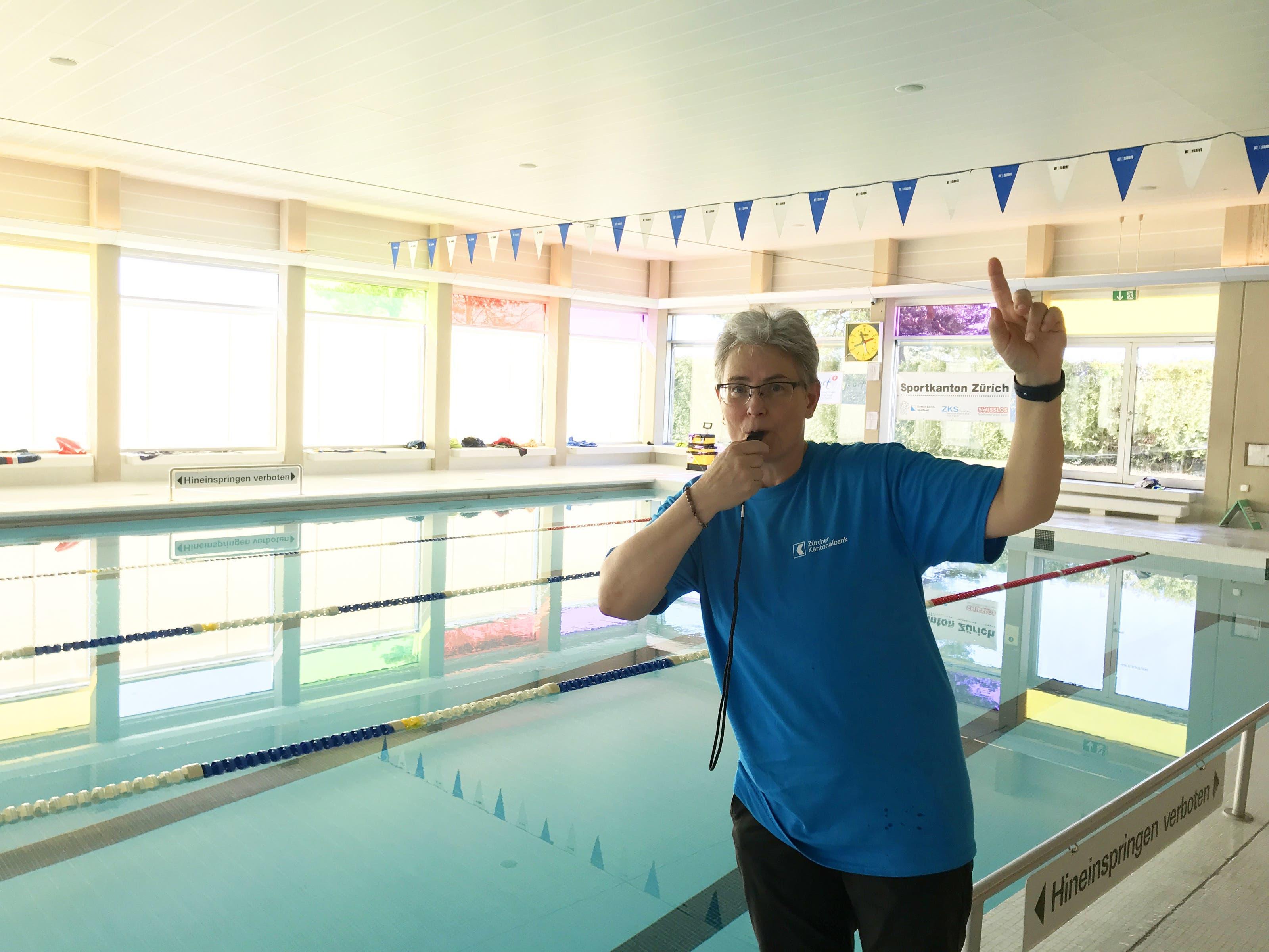 Differenzschwimmen von PluSport Behindertensport Limmattal 2019