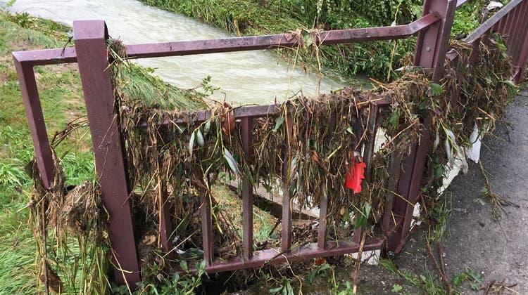 Nach Hochwasser: Brücken sind saniert – doch das Hauptproblem ist noch nicht gelöst