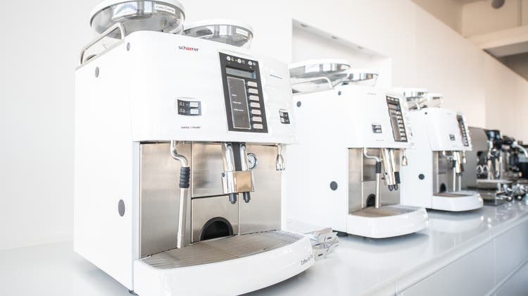 Kaffeemaschinenhersteller Schaerer AG stärkt den Stammsitz