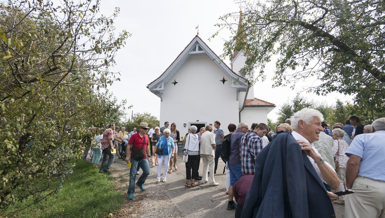 Zuhause für Seele und Fledermäuse: Das Steinhöfer «Chüuchli» erstrahlt in neuem Glanz