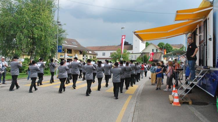 Der Aargauer Musiktag macht Möhlin zum Musik- und Beizendorf