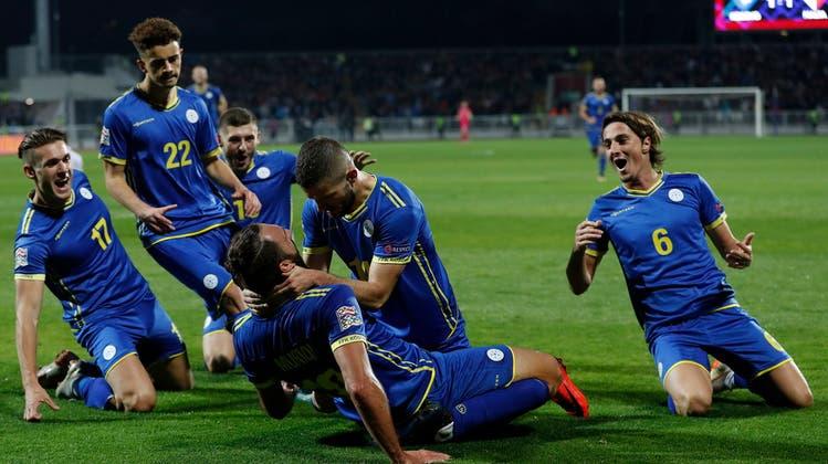 Dank Gruppensieg in der Nations League – den Kosovo trennen nur noch zwei Siege vom EM-Ticket