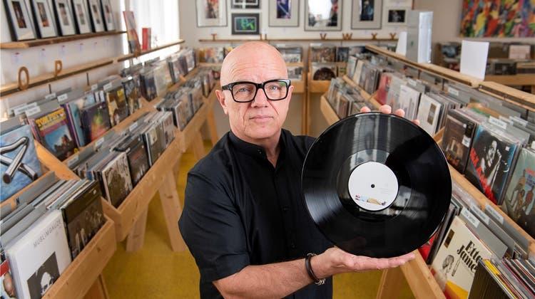 «Vinyl bedeutet back to the future»: In der «Rille» warten 30000 Tonträger auf Musik-Fans