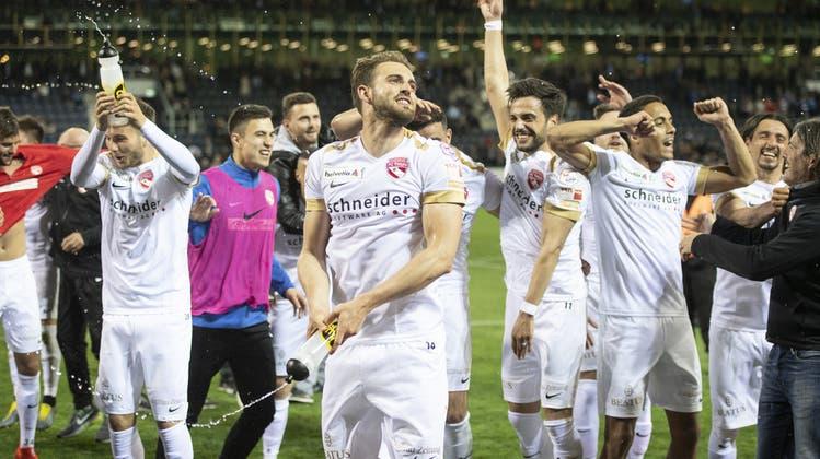 Nach 64 Jahren wieder im Final: Der FC Thun besiegt den FC Luzern und sichert sich den Einzug in den Cupfinal