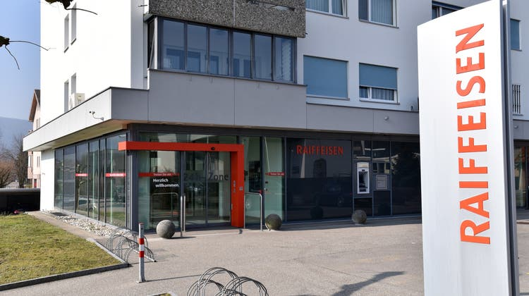 Jahresgewinn der Raiffeisenbank konnte nicht mit Vorjahr mithalten