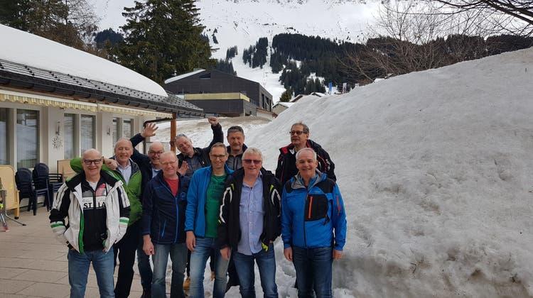 Skiweekend des Männerturnvereins MTV Untersiggenthal in Parpan 9./10. März 2019