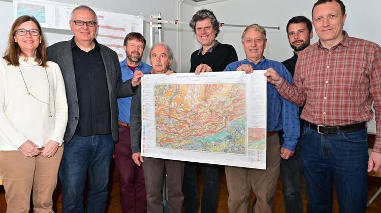 Neues Atlasblatt «Hauenstein» schliesst weitere Lücke im Jura