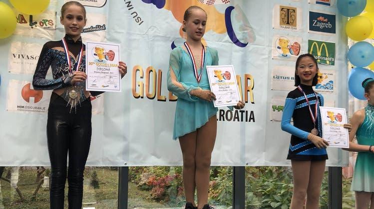 Kimmy Repond holt Silber an ihrem ersten internationalen Wettkampf