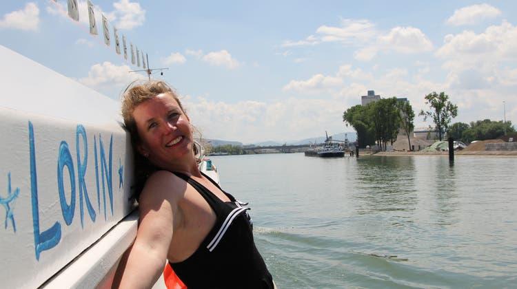 Kulturfrachter Lorin auf Heimatbesuch: Anmari Wili ist mit ihrem Schiff bis Ende Juni in Basel