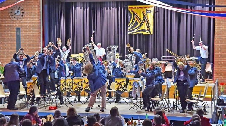 Das Chaos führt am Konzert der Brass Band Regie