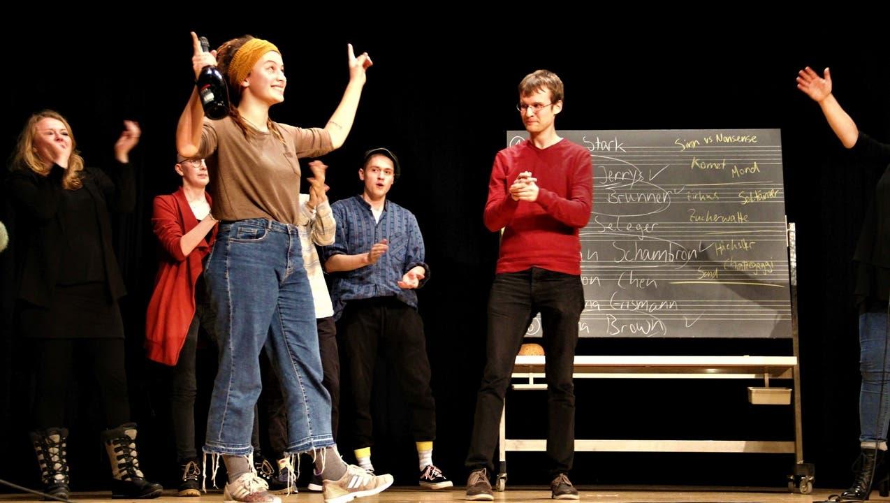 Kantonsschule Wohlen liefert – die Stars der Slam-Szene hatten keine Chance