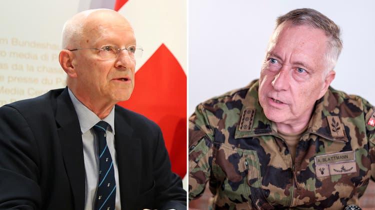 «Ich weiss nicht, woher er das hat»: Nicollier entschuldigt sich bei Ex-Armeechef Blattmann