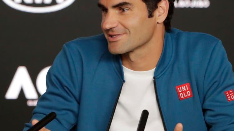 Weshalb sich Roger Federer vor den Australian Open in Zurückhaltung übt