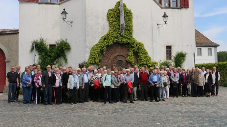 Wegenstetter Senioren unterwegs