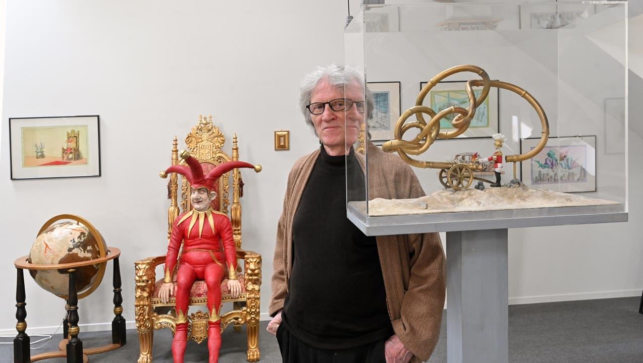 Werner Nydegger stellt an der Ringstrasse aus