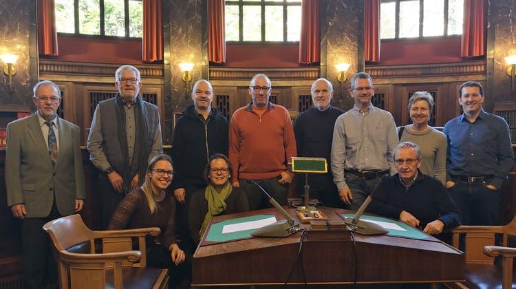 Die FDP Wettingen zu Besuch beim Bundesgericht