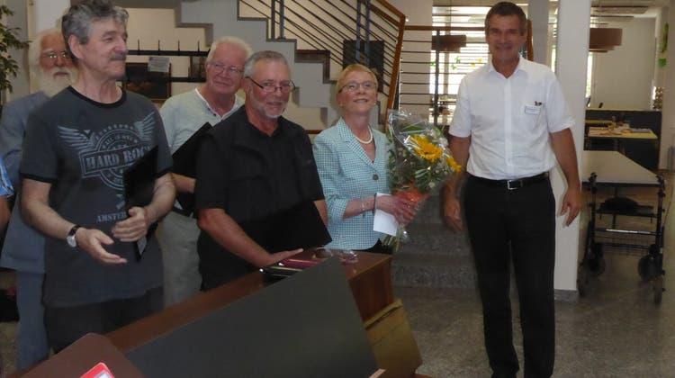 Sommerständeli mit dem Männerchor Chutz im Alters- und Pflegeheim Ischimatt