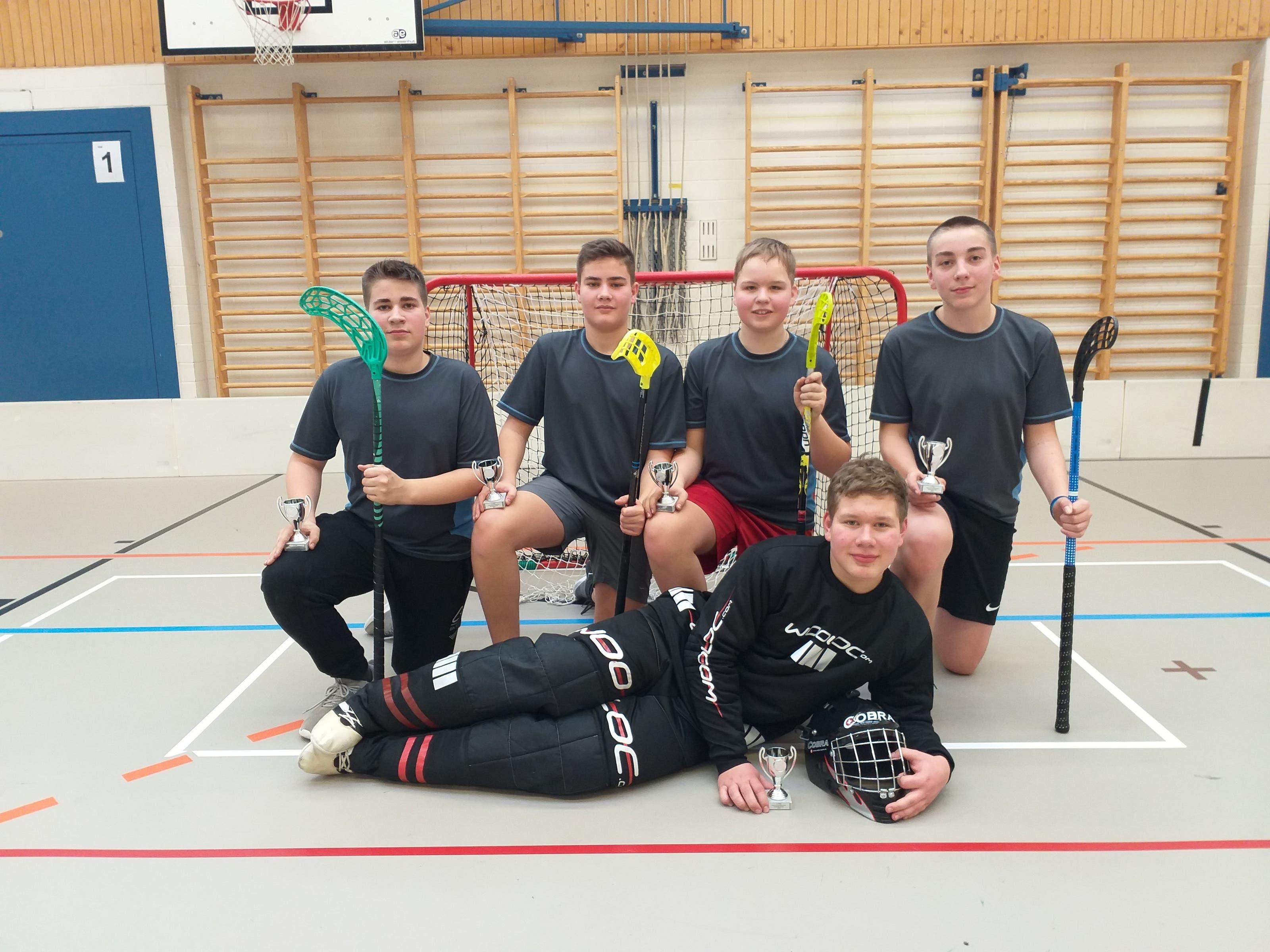 Mannschaft U16 - 2. Rang