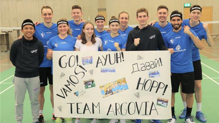 Mit dem Flugzeug Richtung Meistertitel: Wie das Team Argovia zum dritten Mal in der Badminton-NLA triumphieren möchte