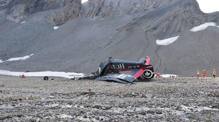 Abgestürzte «Tante Ju» gehörte der Schweizer Luftwaffe