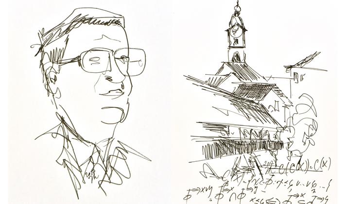 30 Blätter zu Ehren Hans Künzis – Kunstmuseum bekommt Bilder von Jürg Kohlas