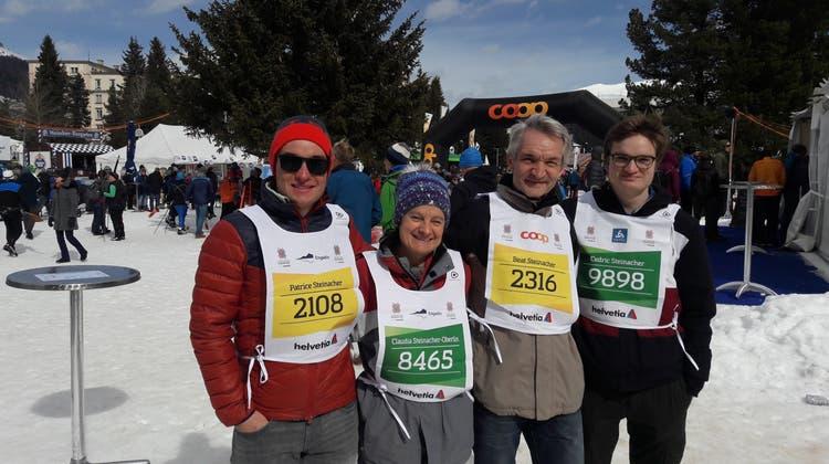 Familie Steinacher aus Gansingen am Engadiner 2019