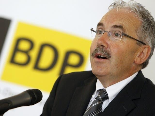 3. Platz: Hans Grunder (BDP) nahm an knapp 20 Prozent der Abstimmungen nicht teil. (687 von 3441 Abstimmungen).