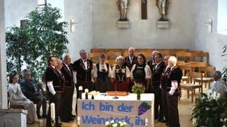 Festgottesdienst der Trachtengruppe Neuendorf