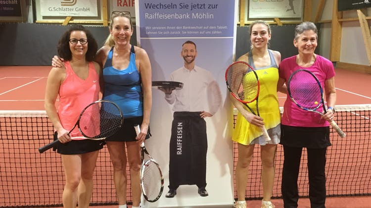 1. «Raiffi-Doppel Cup» des TC Möhlin war ein voller Erfolg