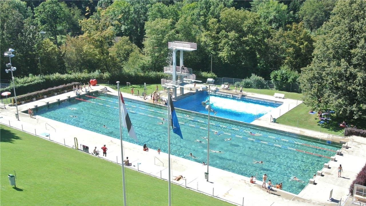 Das Badener Freibad wurde 1934 erbaut. Es zählt pro Jahr 100'000 Gäste.