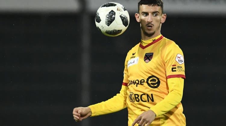 Wer wird Nachfolger von Topskorer Varol Tasar? Der FC Aarau hat einen Xamax-Star im Visier