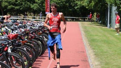 Auf dem Weg an die Weltspitze: Max Studer nimmt erstmals an einem Triathlon der höchsten Klasse teil