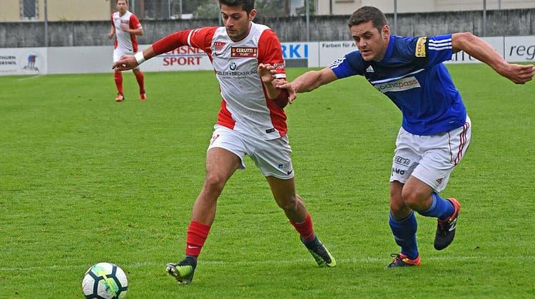 Der FC Solothurn holt gegen Schötz den ersten Saisonsieg