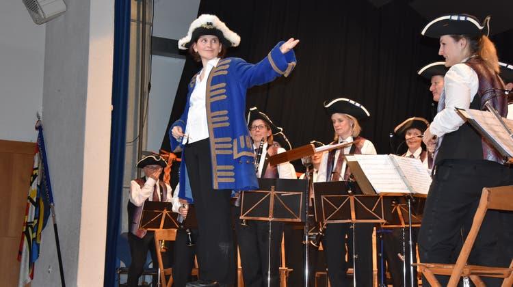 Am Jahreskonzert trumpfte die Harmonie Birmensdorf mit vielfältigem Repertoire auf