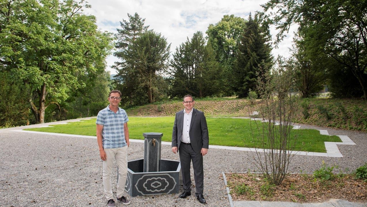 Hier werden nun die ersten Grabfelder für Muslime im Aargau eingeweiht