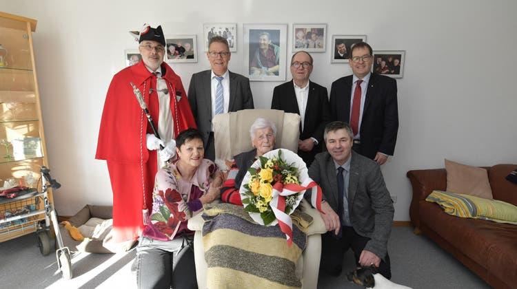 Klara Meyer-Tschumi feiert ihren 100. Geburtstag