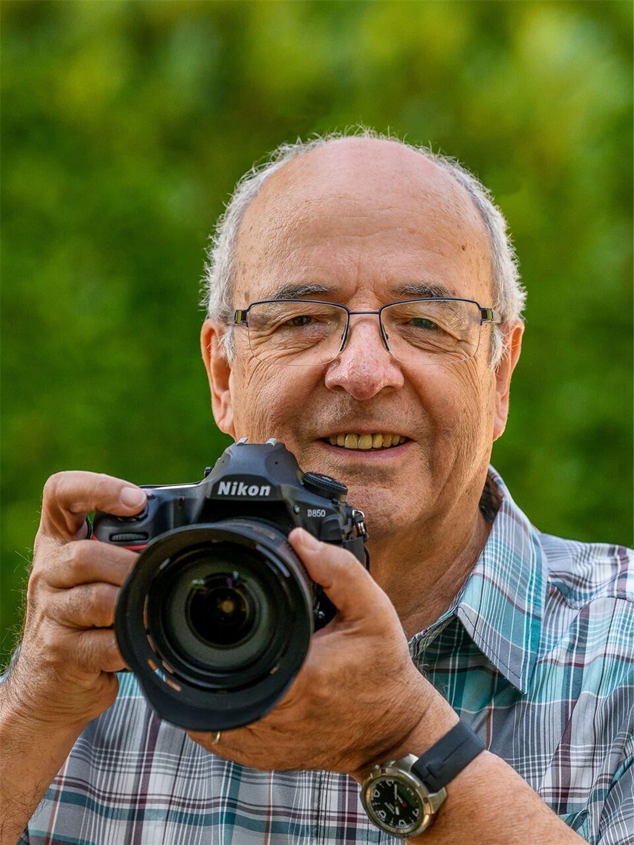 Rudolf Hug aus Oberrohrdorf reist für seine Leidenschaft um die Welt.