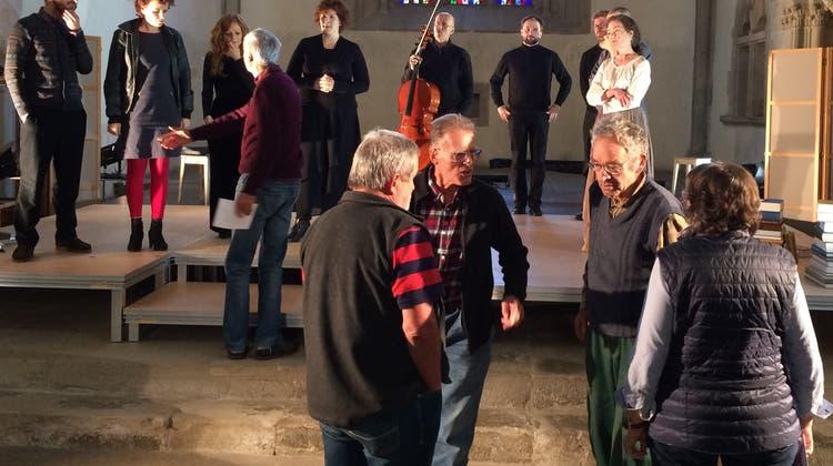 Das Musiktheater Ranft-Ruf ist mit «Niklaus von Flüe» wieder auf Tournee