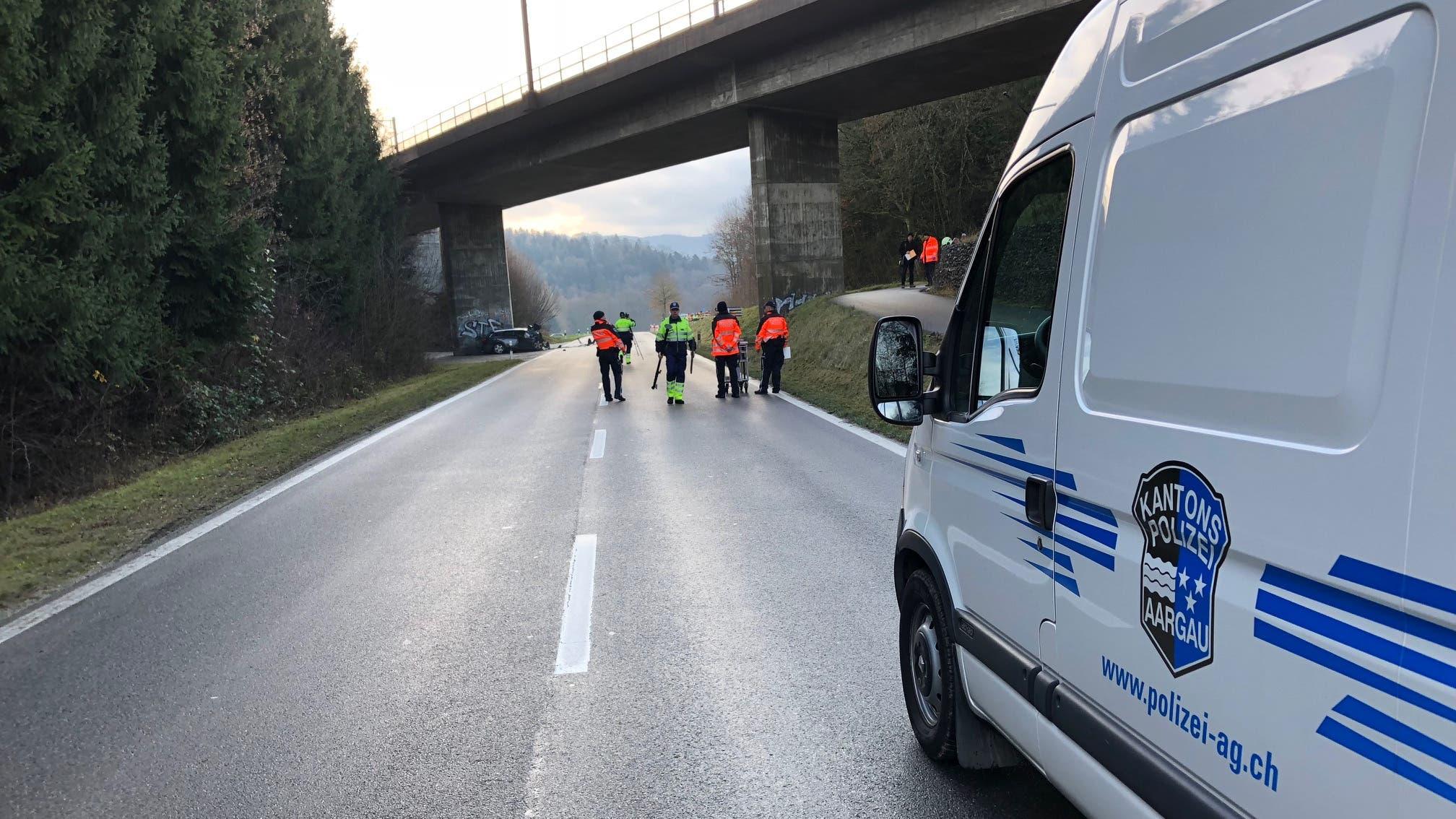 Die Tatbestandsaufnahme der Kantonspolizei dauerte mehrere Stunden.