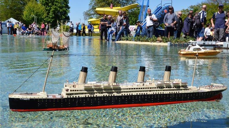 Neue Badi wird zur Hafenstadt – für Passagierschiffe, Jachten und Modellschiffe aller Art