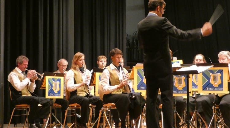 Das Orchester spielte mit klarem Klang und viel Freude