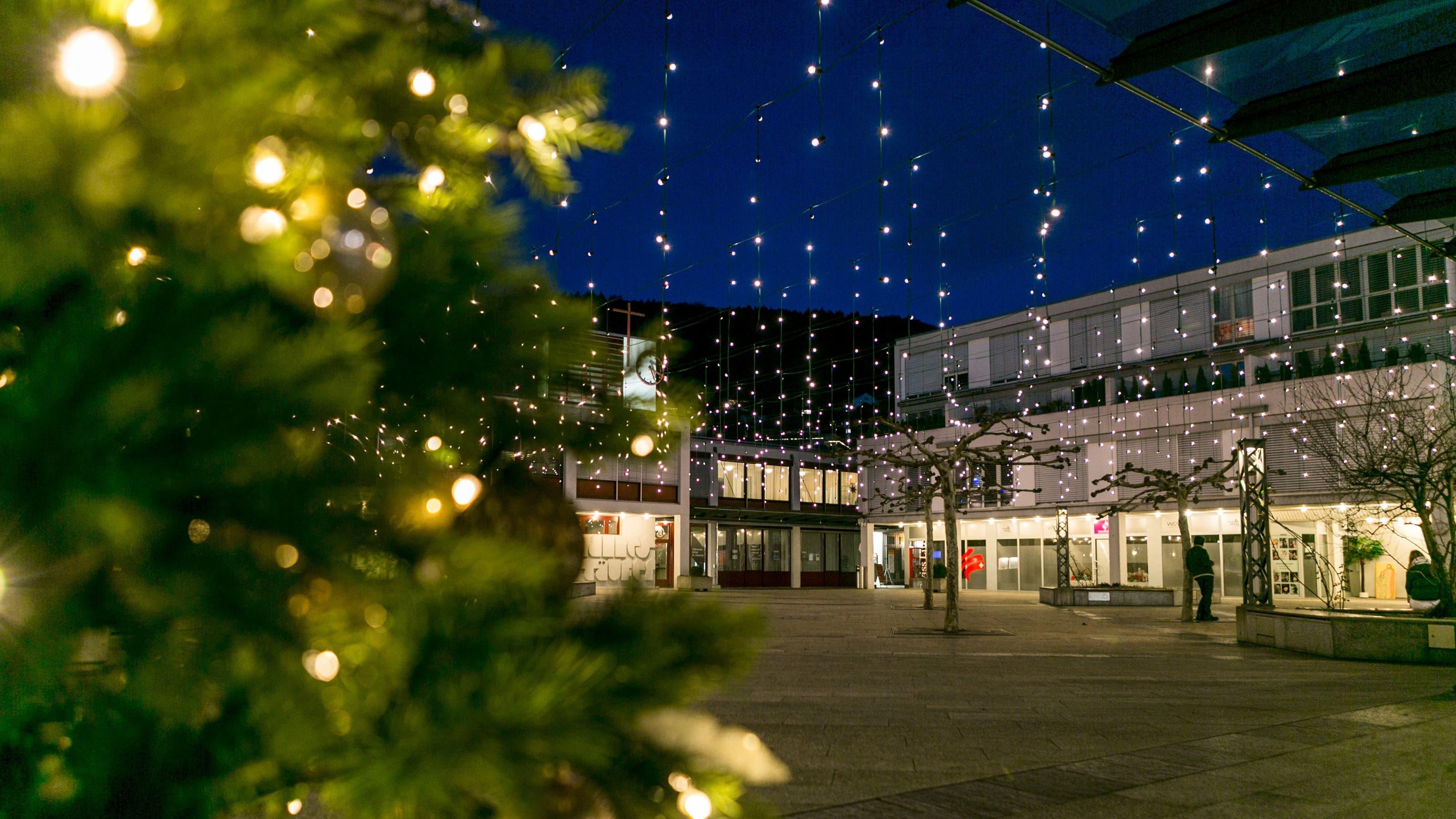 Weihnachtsbeleuchtung Limmattal