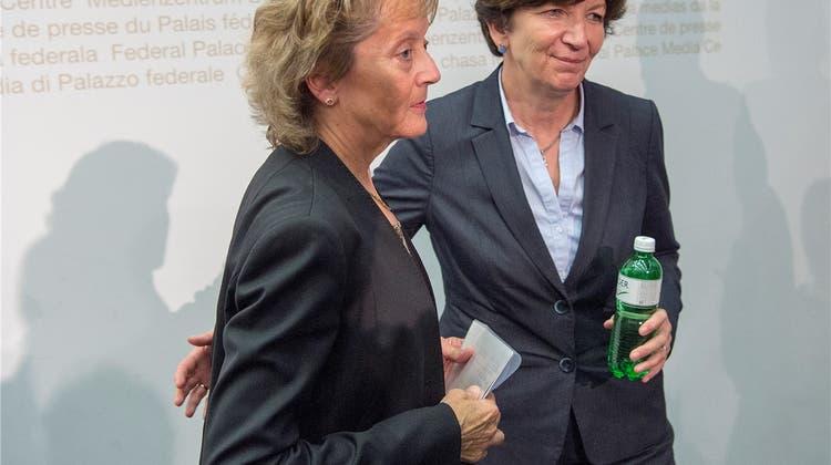 Bundesrätin Viola Amherd setzt auf ihre Oberwalliser