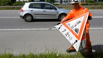 Forstarbeiten – Ausbau und Sanierung der Kantonsstrasse beginnt