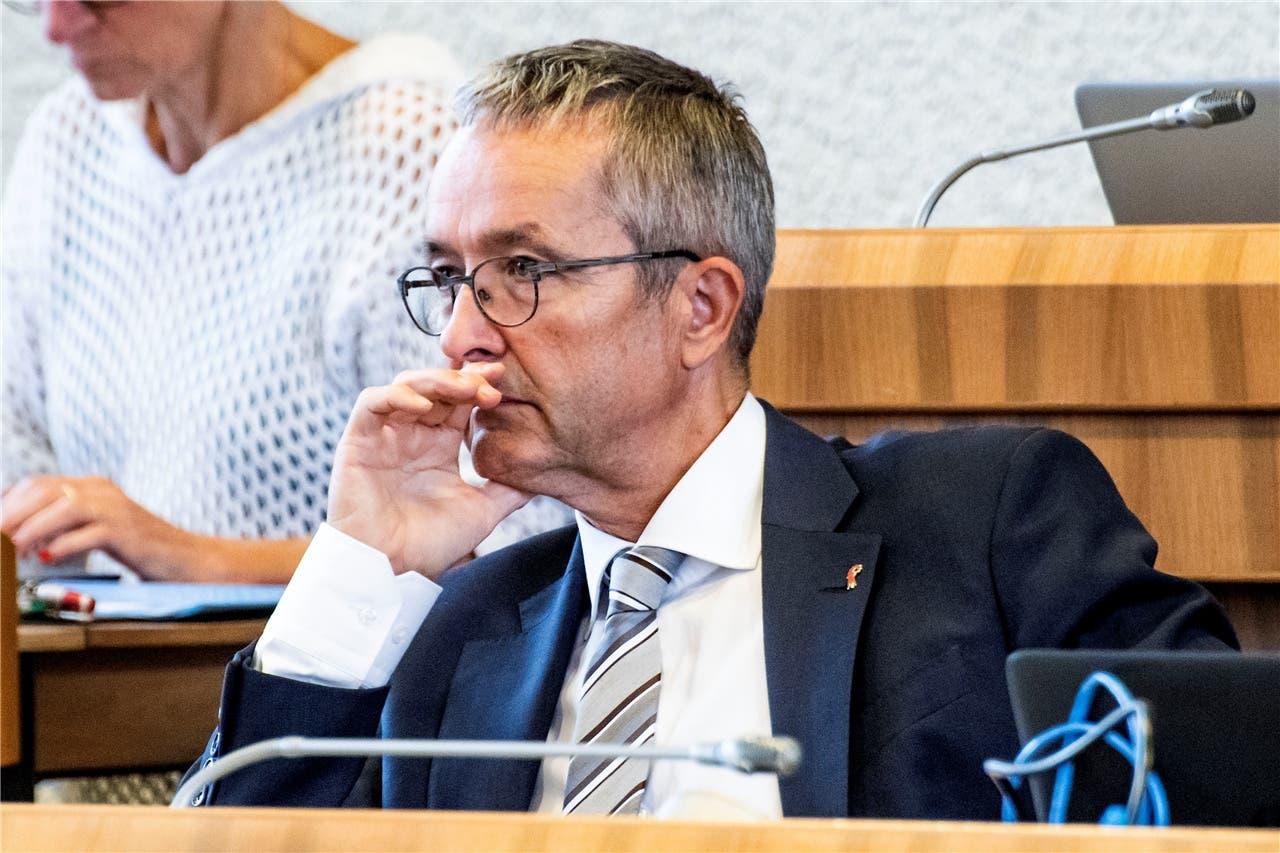 Er wehrte sich im Landrat energisch für «sein» Projekt: Der Baselbieter Gesundheitsdirektor Thomas Weber (SVP), einer der Motoren der geplanten Spitalfusion beider Basel.