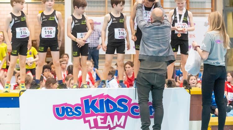 UBS Kids Cup Team: Sechs Aargauer Podestplätze am Schweizer Final